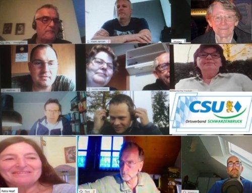 Premiere: Video-Konferenz der CSU-Monatsversammlung